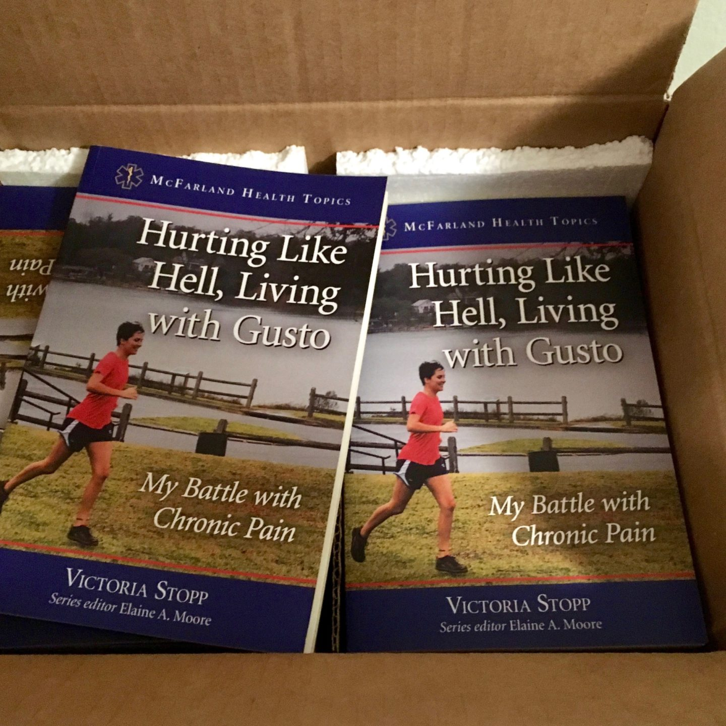 Author Copies Arrived